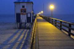Die Seebrücke in Lubmin