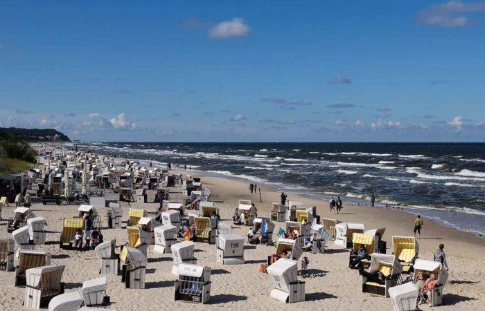 Der Strand auf Usedom